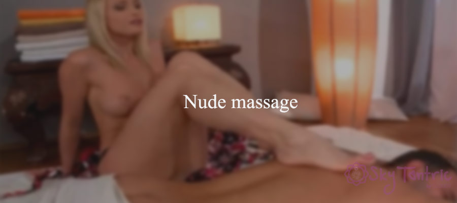 nude massage therapy
