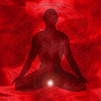 the root chakra position