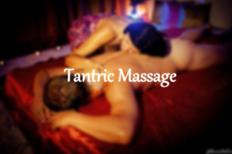 the tantric massage in London during the session